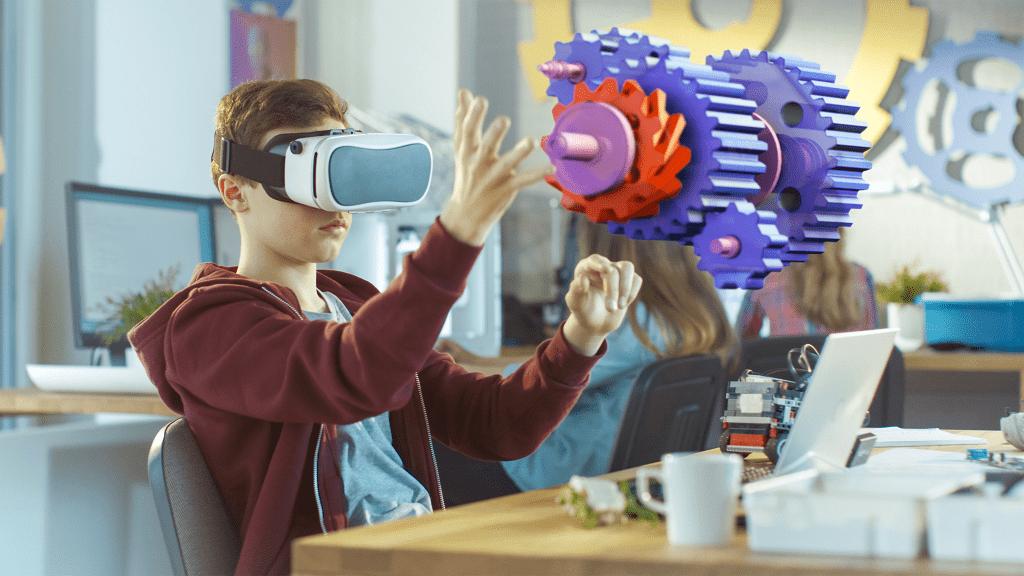 Digitales Lernen mit AR- und VR-Technologie