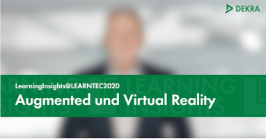 """AR und VR: Teil drei von """"LearningInsights@LEARNTEC2020"""" jetzt online"""