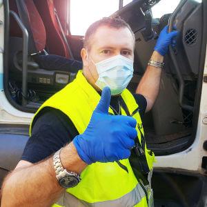 Hygienemaßnahmen in der Transportlogistik